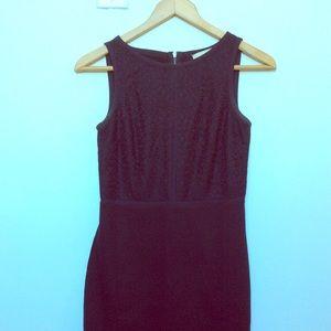 NWOT Ann Taylor Loft Little Black Dress XS Stretch